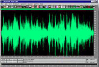 Software editing audio